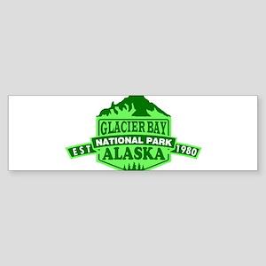 Glacier Bay - Alaska Bumper Sticker