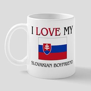 I Love My Slovakian Boyfriend Mug