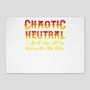 Chaotic Neutral. I Like To Keep All 5'x7'Area Rug