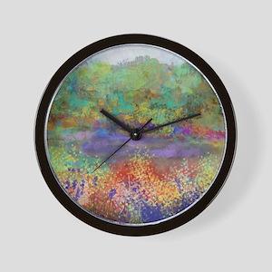 Serene Landscape, Landscape Art, Design Wall Clock