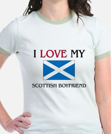 I Love My Scottish Boyfriend T
