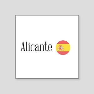 Alicante Sticker
