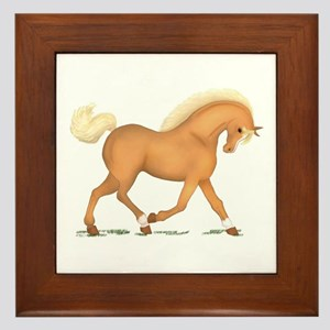 Palomino 2 Socks Blaze Framed Tile