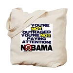 Outraged Tote Bag