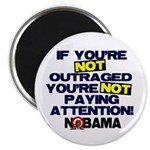"Outraged 2.25"" Magnet (10 pack)"
