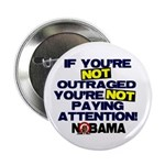 "Outraged 2.25"" Button (10 pack)"