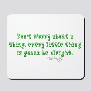 Marley Quote Mousepad