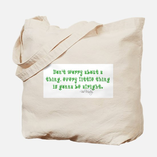 Marley Quote Tote Bag