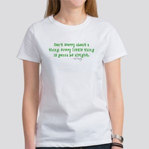 Marley Quote Women's T-Shirt