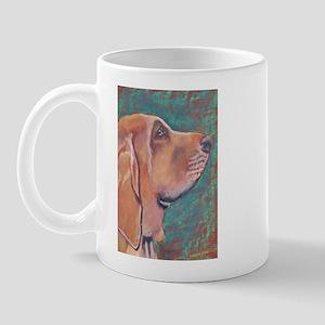 """Hank"" a Bloodhound Mug"