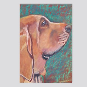 """Hank"" a Bloodhound Postcards (Package of 8)"