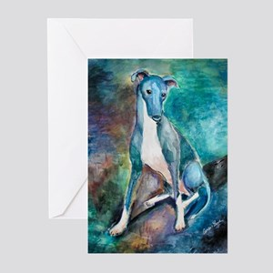 A Greyhound Greeting Cards (Pk of 10)