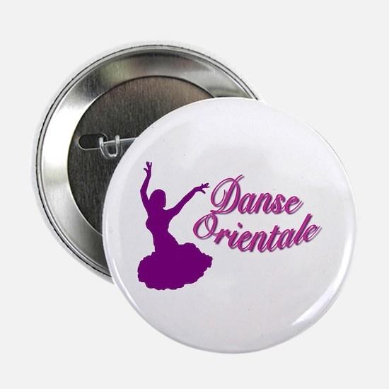 Purple Danse Orientale Button