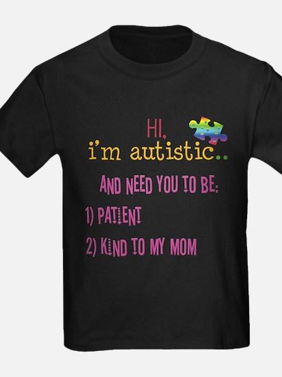 Hi,autism awareness tee T
