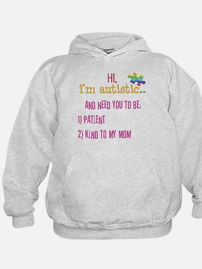 Hi,autism awareness tee Hoody