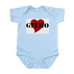 Love Gitmo Infant Creeper