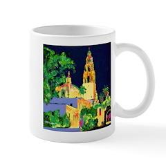 Balboa Park At Night Mug