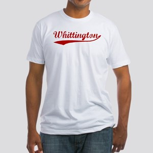 Whittington (red vintage) Fitted T-Shirt