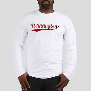 Whittington (red vintage) Long Sleeve T-Shirt