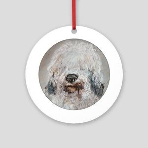 Old English Sheepdog Keepsake (Round)