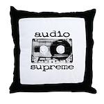 Audio Tape | Throw Pillow