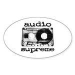 Audio Tape | Oval Sticker