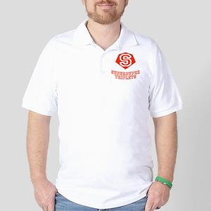 Superduper Triplets Golf Shirt