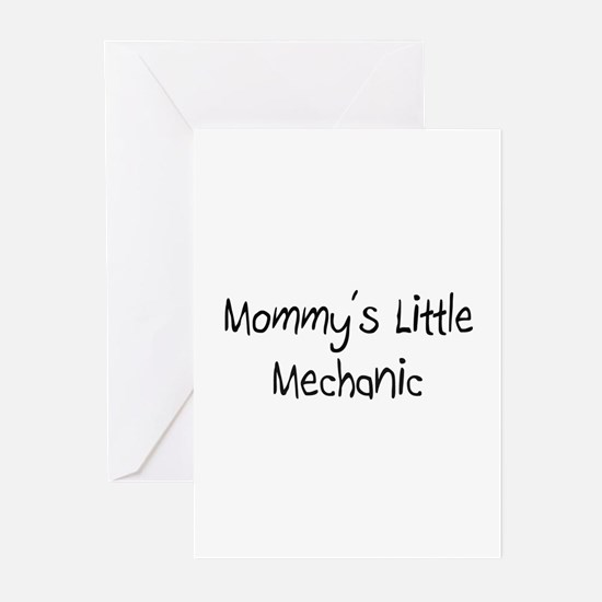 Mommy's Little Mechanic Greeting Cards (Pk of 10)