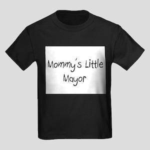 Mommy's Little Mayor Kids Dark T-Shirt