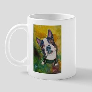 A Boston Terrier Mug