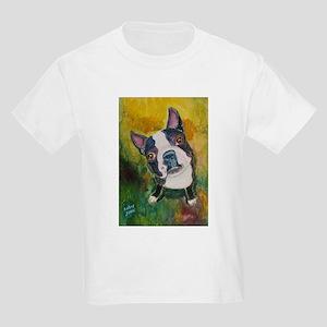 A Boston Terrier Kids T-Shirt