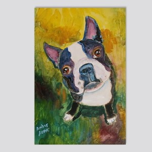 A Boston Terrier Postcards (Package of 8)