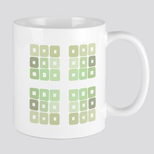 Greenery Squared and Green Mugs