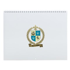ARCHAMBAULT Family Crest Wall Calendar