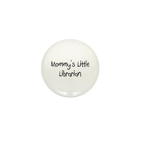 Mommy's Little Librarian Mini Button (10 pack)