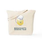 Massachusetts Drinking Team Tote Bag
