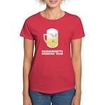Massachusetts Drinking Team Women's Dark T-Shirt