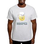 Massachusetts Drinking Team Light T-Shirt