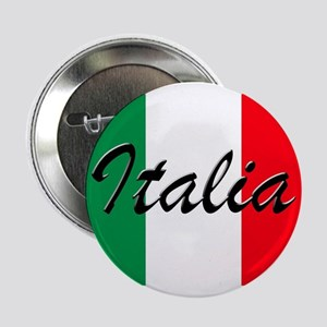 "Italian Flag - High Quality Image 2.25"" Button"