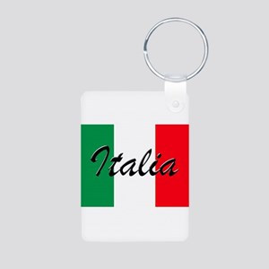 Italian Flag - High Quality Image Keychains