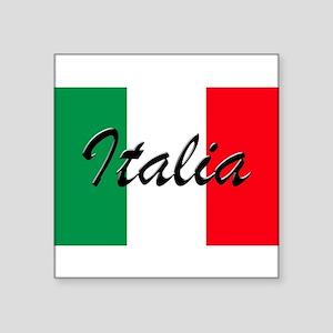 Italian Flag - High Quality Image Sticker
