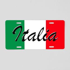 Italian Flag - High Quality Aluminum License Plate