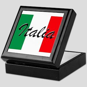 Italian Flag - High Quality Image Keepsake Box