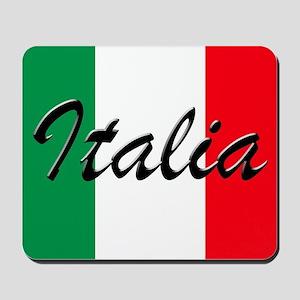 Italian Flag - High Quality Image Mousepad