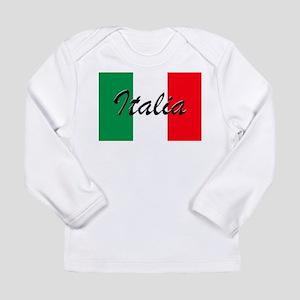 Italian Flag - High Quality Im Long Sleeve T-Shirt