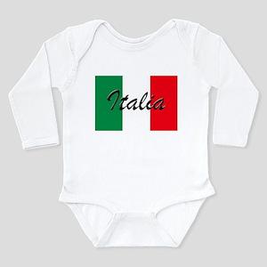 Italian Flag - High Quality Image Body Suit