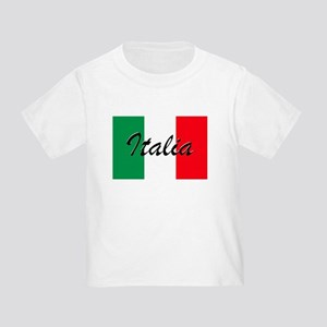 Italian Flag - High Quality Image T-Shirt
