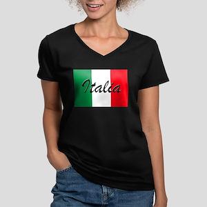 Italian Flag - High Quality Image T-Shirt