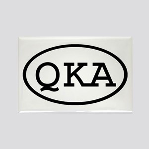 QKA Oval Rectangle Magnet