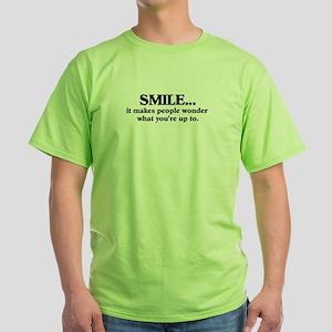 Smile Green T-Shirt